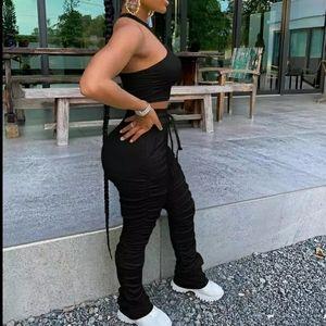 Womens stacked leggings